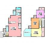 新築住宅 2280万円 3LDK  猪名寺1丁目 (JR猪名寺駅徒歩8分)