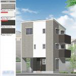 限定1区画の新築住宅 3380万円 尼崎市次屋4丁目(JR尼崎駅 徒歩17分)